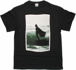 Star Wars Darth Vader Surfing T Shirt