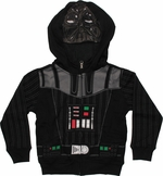 Star Wars Darth Vader Masked Toddler Hoodie