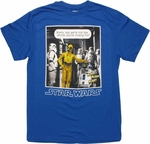 Star Wars Droid Disguise Blue T Shirt