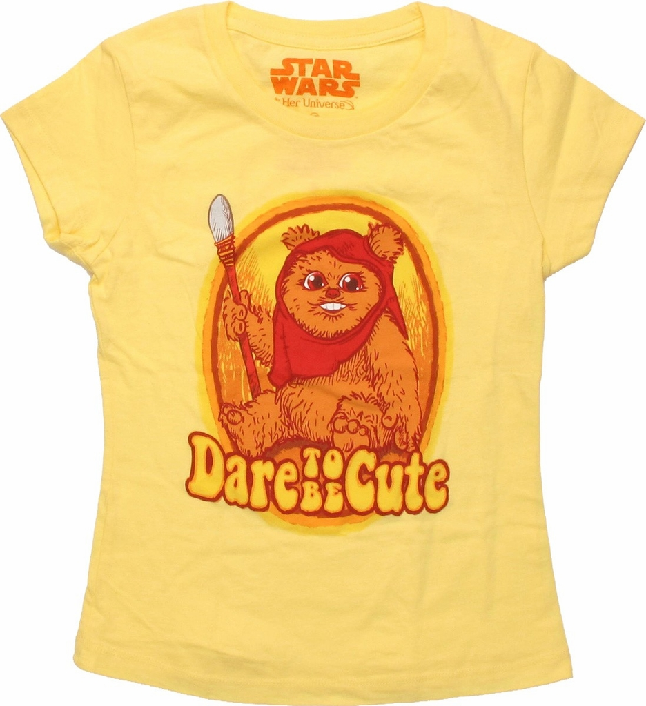 Star Wars Ewok Cute Youth T Shirt