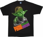 Star Wars Funk Master Yoda T Shirt Sheer