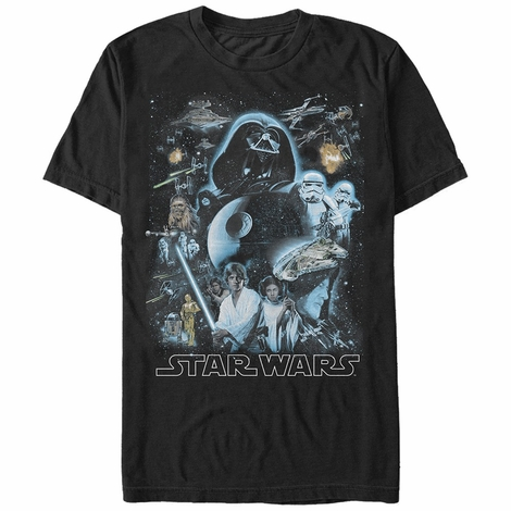 Star Wars Galaxy of Stars T-Shirt