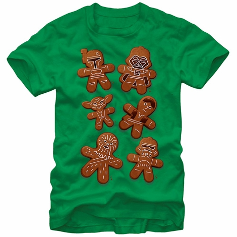 Star Wars Gingerbread Cast T-Shirt