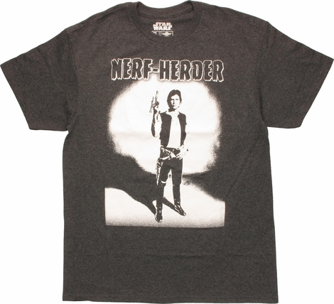 Star Wars Han Solo Nerf Herder T-Shirt