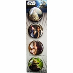 Star Wars Heroes Button Set