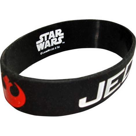 Star Wars Jedi Rubber Wristband