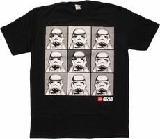 Star Wars Lego Boxes T-Shirt