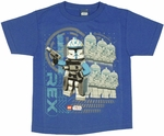 Star Wars Lego Clone Troopers Toddler T Shirt