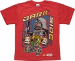 Star Wars Lego Dark Sidekicks Youth T Shirt