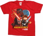Star Wars Lego Destiny Juvenile T-Shirt