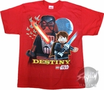 Star Wars Lego Destiny Youth T-Shirt