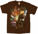 Star Wars Lego Duo Youth T Shirt