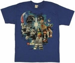 Star Wars Lego Force Youth T Shirt