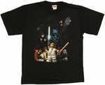 Star Wars Lego Group Youth T-Shirt