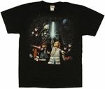 Star Wars Lego Group Youth T Shirt