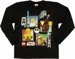 Star Wars Lego Jedi Alliance Long Sleeve Youth T Shirt