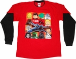 Star Wars Lego Long Sleeve Youth T Shirt