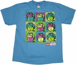 Star Wars Lego Princess Youth T Shirt