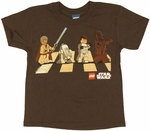 Star Wars Lego Road Juvenile T Shirt