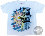 Star Wars Lego Shoot Juvenile T-Shirt