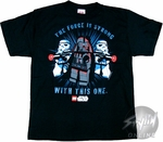 Star Wars Lego Strong Youth T-Shirt