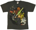 Star Wars Lego Swing Youth T Shirt