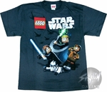 Star Wars Lego Swing Youth T-Shirt