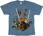 Star Wars Lego Trio Youth T Shirt