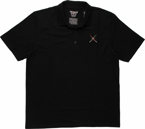 Star Wars Lightsabers Clash Polo Shirt