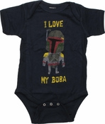 Star Wars Love My Boba Snap Suit