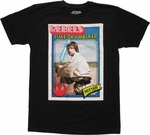 Star Wars Luke Baseball Card T Shirt Sheer
