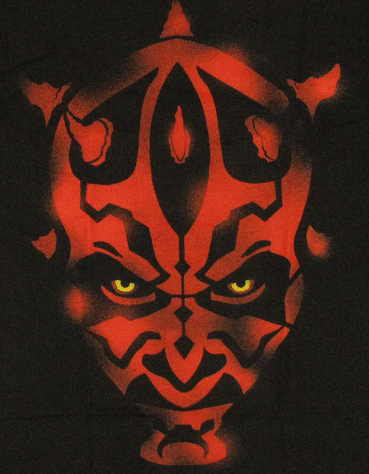 star wars maul stencil t shirt