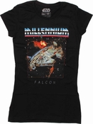 Star Wars Millennium Rock Baby Tee