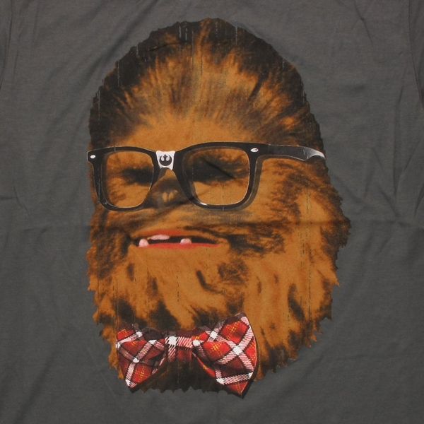 Star Wars Nerdy Wookiee T Shirt Sheer