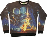 Star Wars Poster Sweatshirt