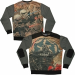 Star Wars Power Lord Sublimated Overlay Sweatshirt