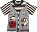Star Wars Punk Vader Suit Juvenile T Shirt