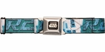 Star Wars R2-D2 Green Seatbelt Belt