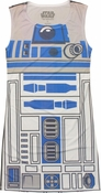 Star Wars R2D2 Sublimated Tank Top Dress