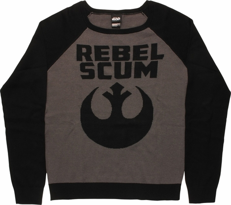 Star Wars Rebel Scum Juniors Sweater