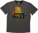 Star Wars Retro Logo Mesh T Shirt