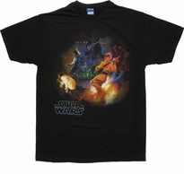 Star Wars Rock Band T Shirt Sheer
