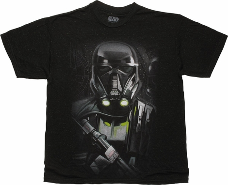 Star Wars Rogue One Death Trooper Stare T-Shirt