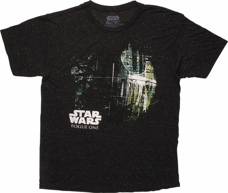 Star Wars Rogue One Dripping Death Star T-Shirt