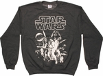 Star Wars Simple Poster Sweatshirt