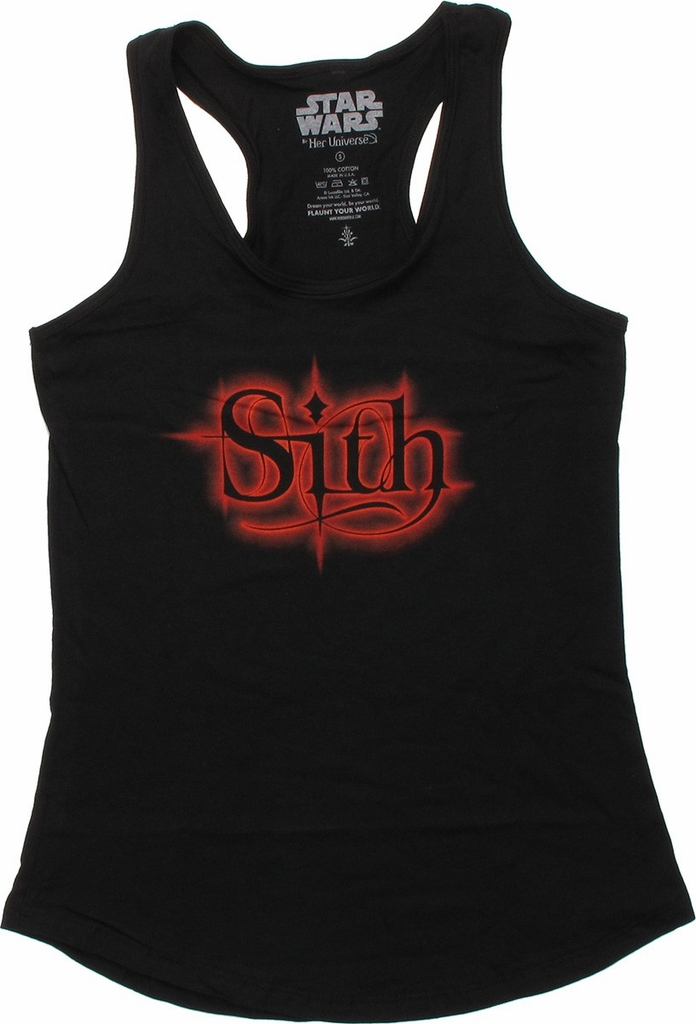 Star Wars Sith Tank Top Baby Tee