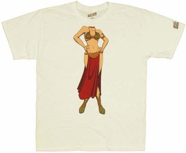 Star Wars Slave Leia T Shirt
