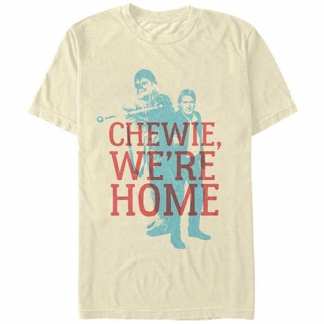 Star Wars TFA Chewie Han Home T-Shirt