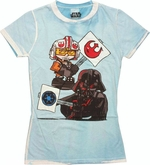 Star Wars Toon Signs Inside Dye Baby Tee