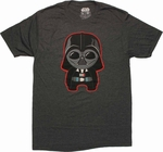 Star Wars Toy Darth Vader T Shirt Sheer